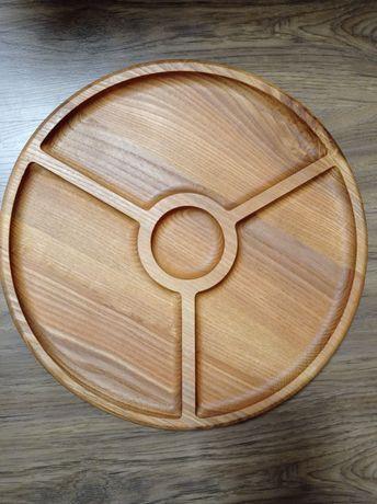 Тарілка дерев'яна