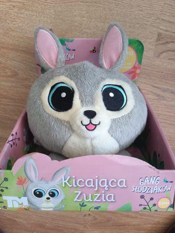 Zabawka, kicająca Zuzia, interaktywny słodziak, NOWA