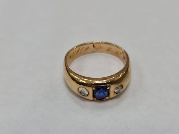 Wiekowy! Wyjątkowy złoty pierścionek damski/ 585/ 7.11 g/ R16