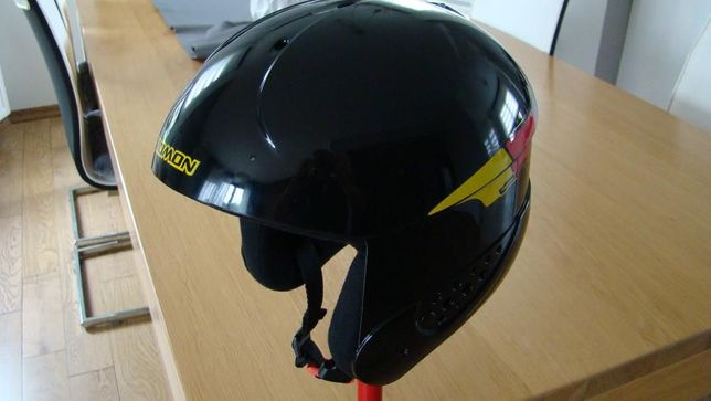 Kask narciarski NOWY Salomon - junior + gogle UVEX junior