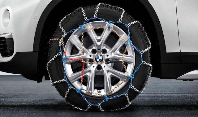 Łańcuchy śniegowe oryginał BMW
