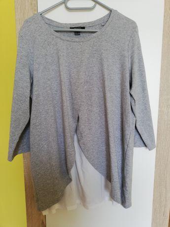 Bluzka ciążowa do karmienia 44 /46 esmara szaro biała