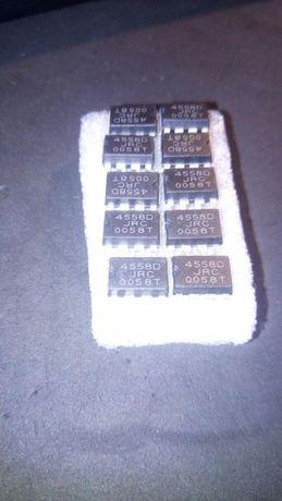 Circuito integrado chip 4558D JRC 0058T
