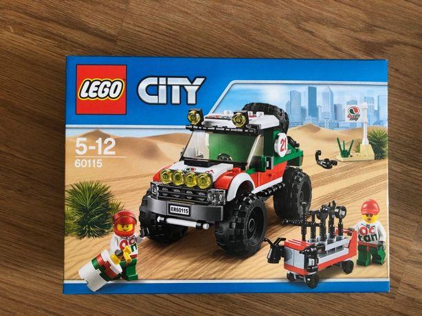 Lego City 60115 - 4x4 Off Road | Jipe 4x4 - NOVO SELADO