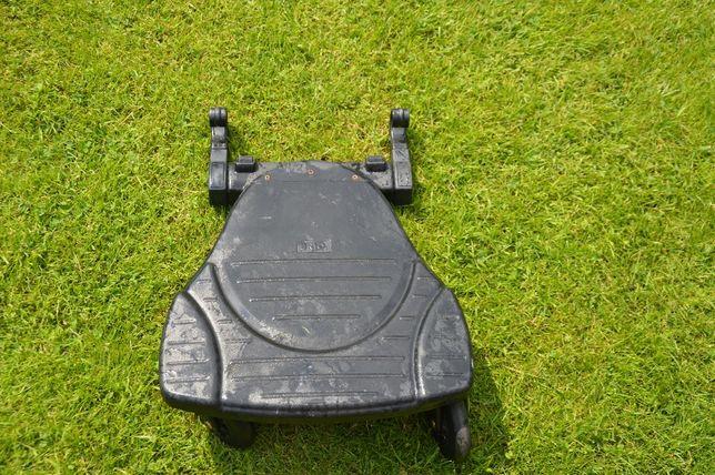 Dostawka do wózka BRIO. Platforma na kółkach.