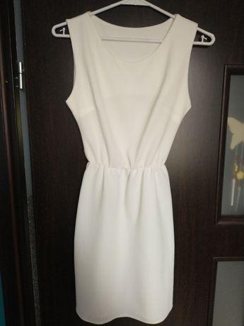 Sukienka kremowa 152