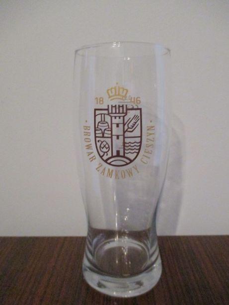 szklanka do piwa Zamkowe Cieszyn 0,5 L Unikat Gadżety piwne