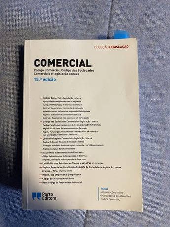 Livro código das sociedades comerciais