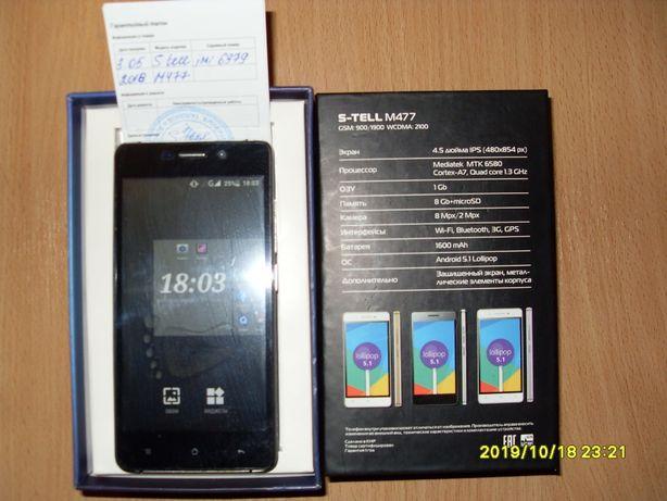 Продам телефон S-TELL (М-477) cмартфон