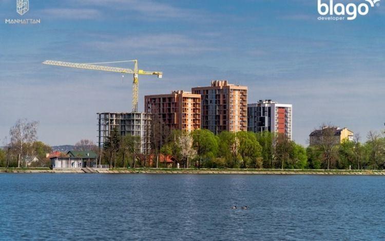Сучасна 1-кімнатна біля озера Ивано-Франковск - изображение 1
