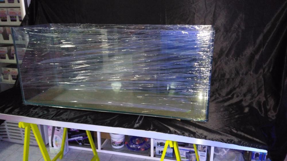Aquario 150x50x50 em vidro 12mm novo