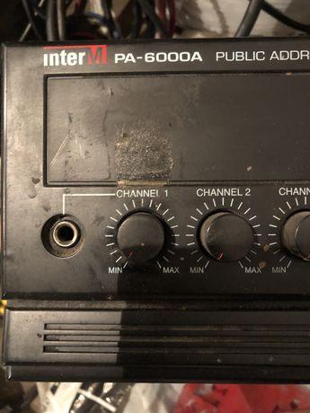 Продам трансляционный усилитель Inter-M PA6000