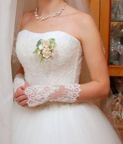 Весільна сукня, плаття 42 розмір