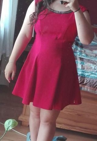 Czerowna sukienka