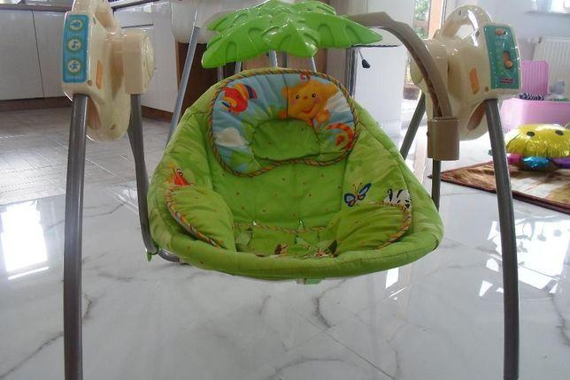 bujak/huśtawka dziecięca fisher price rainforest