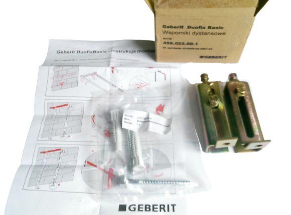 Geberit Duofix Basic Wsporniki dystansowe 458.025.00.1