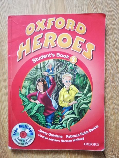 Oxford Heroes 2 - Student's Book + Диск