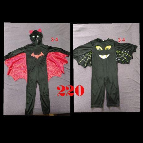 карнавальный костюм Летучая мышь . 3-4 года