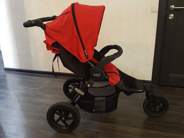 Коляска Britax b motion 3,трехколёсная,надувные колёса.