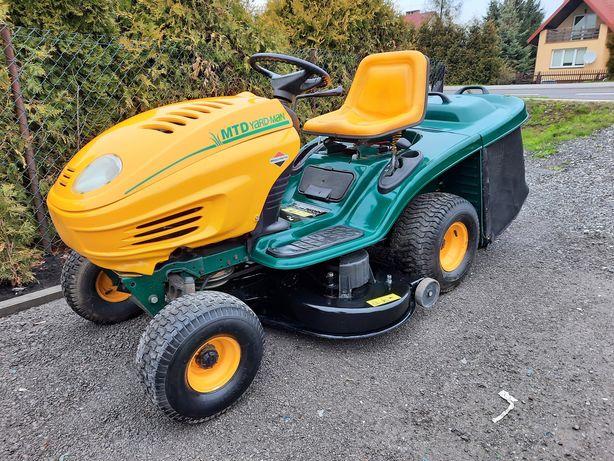 Traktorek Kosiarka Z Koszem Mtd YardMan 14Km 2 Cylindry 2 Noże 105cm