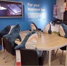 Акула Блохэй Икея в наличии