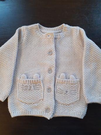 Sweterek dziewczęcy- nowy bez metki