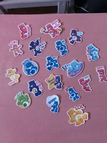 Autocolantes stickers ursos carinhosos novos para biococleta