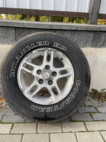 Felga aluminiowa jeep grand cherokee wj/wg 16 5x127