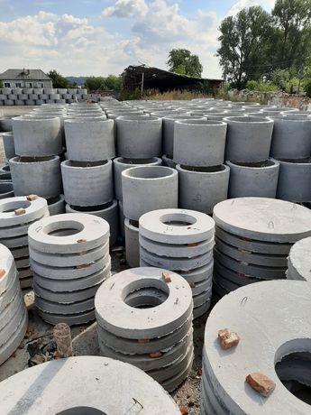 Кільця бетонні високої якості від виробника