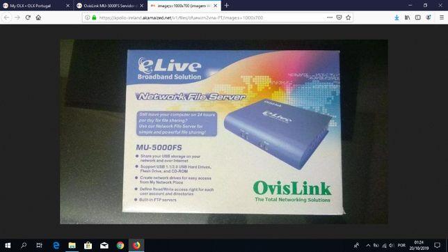 OvisLink MU-5000FS Servidor de arquivos (Novo)