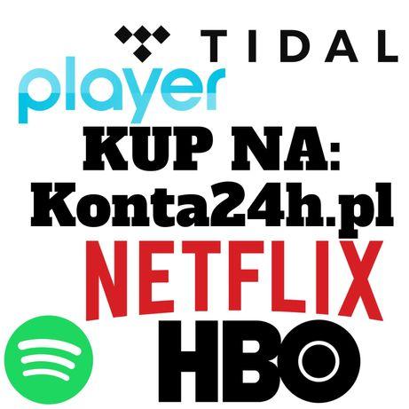 NETFLIX Spotify Tidal Player 40 DNI Iphone | Samsung | TV | Xiaomi