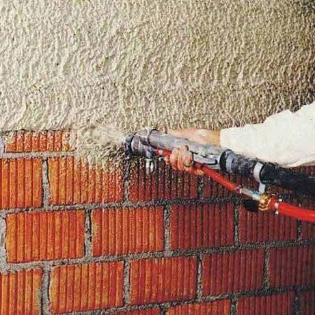 Машинная штукатурка. Штукатурка стен и потолков.