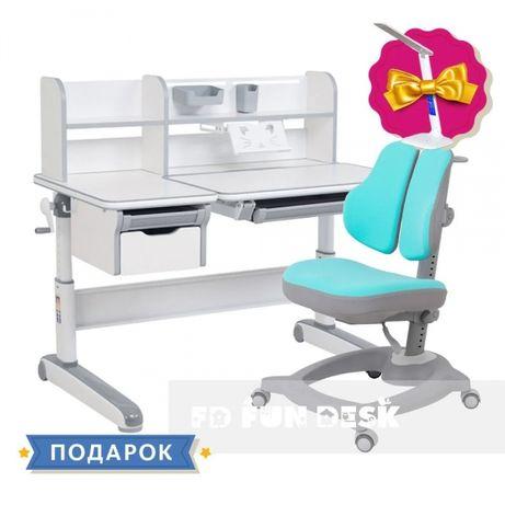 Комплект ортопедической мебели парта и кресло Fundesk - НИЗКАЯ ЦЕНА!