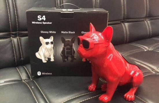 SUPER GŁOŚNIK Buldog Bluetooth Wireless Speaker s4 PREZENT