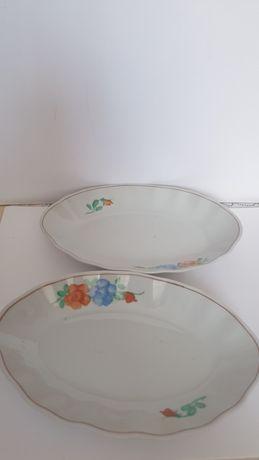 Koreański Półmisek porcelana  za 2szt.Sygnowany lata 60/70 .