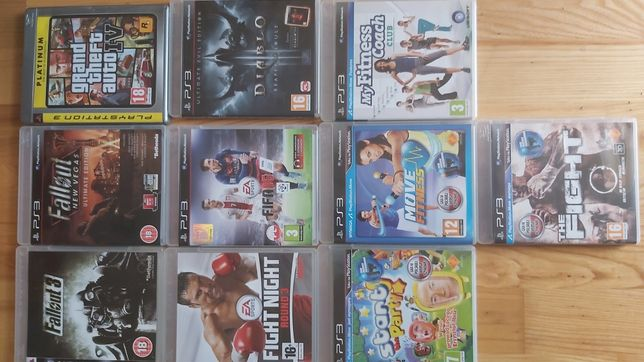 PS3 pakiet gier na Play Station 3
