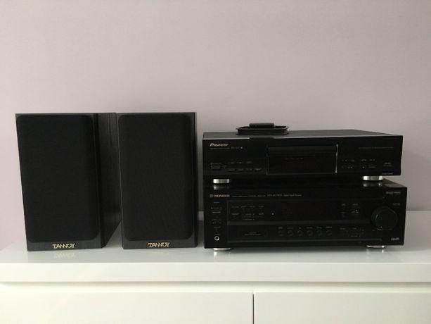 Wzmacniacz Pioneer VSX-407RDS + Odtwarzacz CD Pioneer PD-107