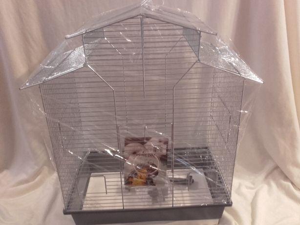 Klatka dla ptaków Iza II zinc