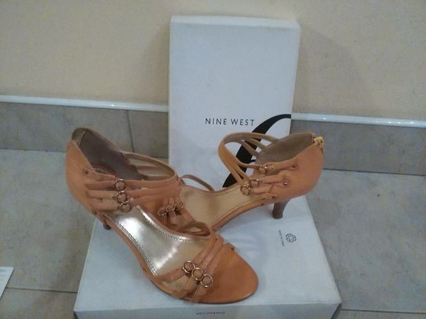 Nine west Camelowe obcasy
