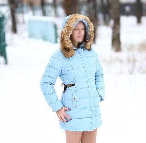 Куртка женская зима осень теплая новая с биркой