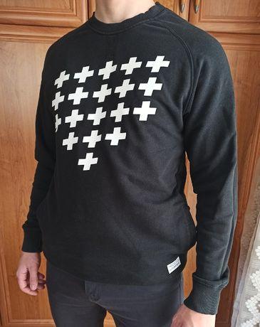 Bluza PROSTO elegancko - z dwiema kieszeniami z przodu - rozmiar L