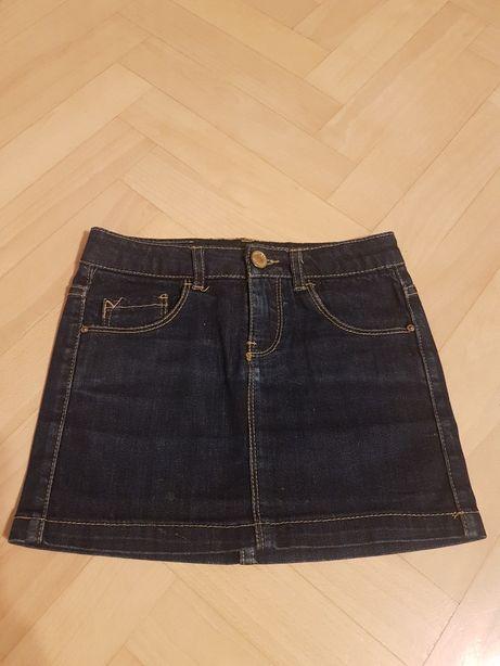 Zara spódniczka 116 jeans