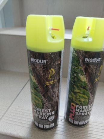 Sprej farba firmy Biodur nowe 2 szt