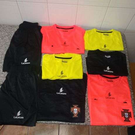 Conjunto equipamentos arbitro Lacatoni