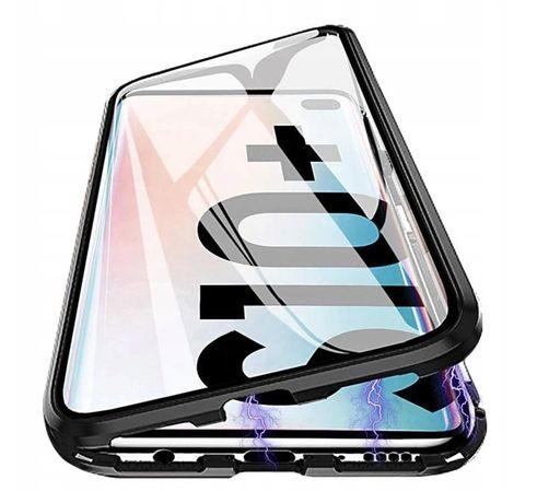 Etui Magnetyczne GLASS Szkło do Samsung S10+