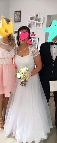 Sprzedam suknię ślubną rozmiar 38-42