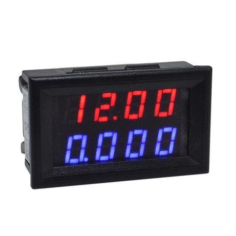 Вольтметр-Амперметр цифровой 200V/10A 4 разряда встраиваемый
