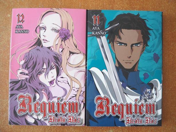 Requiem króla róż tomy 11 i 12 (manga)