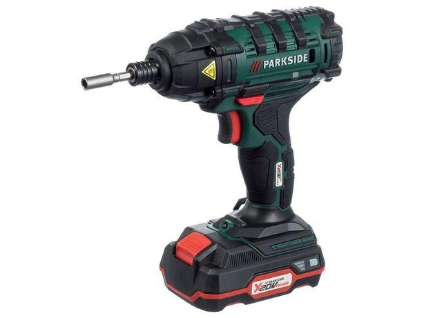 Аккумуляторный ударный гайковерт PARKSIDE® PDSSA 20-Li A1 /Германия