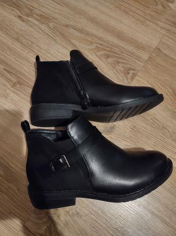 Nowe botki 36 czarne
